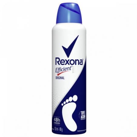 REXONA Desodorante Pédico EFFICIENT