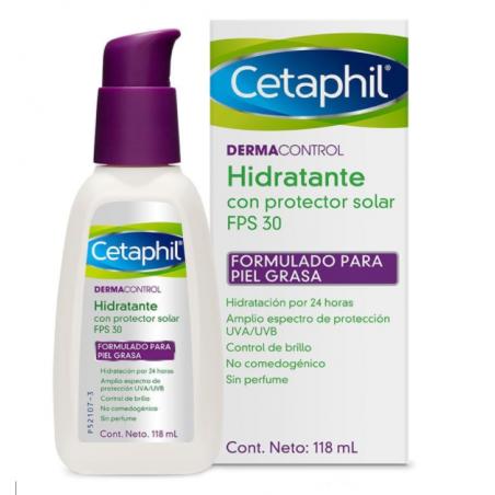 CETAPHIL PRO AC CONTROL HIDRATANTE CON PROTECCIÓN SOLAR 30 X 118ML