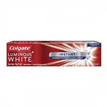 COLGATE LUMINOIS WHITE...