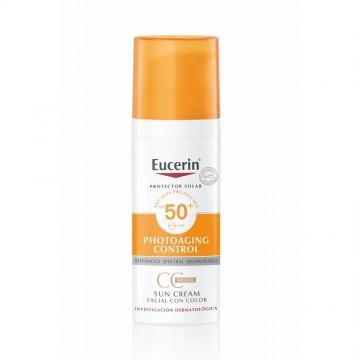 EUCERIN SU CREAM F50+ C/COLOR